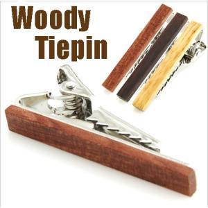 Woodyネクタイピン  木のタイピン|orange58