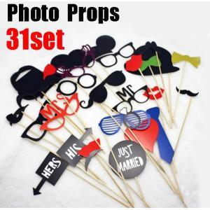 フォトプロップス31点セット PHOTO PROPSウッドスティックも無料で31本付き|orange58