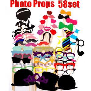 フォトプロップス58点セット PHOTO PROPSウッドスティックも無料で31本付き|orange58