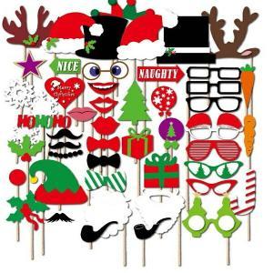 クリスマス フォトプロップスセット PHOTO PROPSウッドスティックもセットで無料  【PHOTO PROPS-29】|orange58
