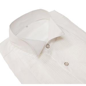 タキシード シャツ ウイングシャツ ウイングカラーシャツ メンズシャツ|orange58