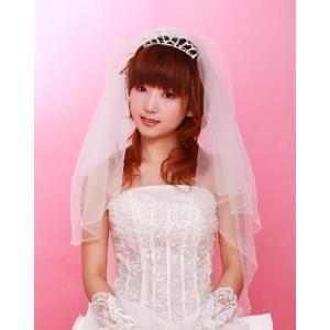 ブライダルベール A ウェディングドレス レディース アクセサリー 結婚式 ウェディングベール|orange58
