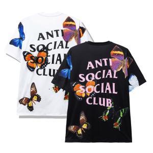 アンチソーシャルソーシャルクラブ(ANTI SOCIAL SOCIAL CLUB)Tシャツ バタフラ...