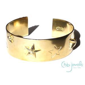 Chibi Jewels(チビジュエルズ)スーパースター星のバングルブレスレット/Super Star Cuff Bracelet/B153|orangecake