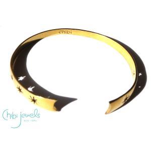 メール便送料無料/Chibi Jewels(チビジュエルズ)コスミックリフトスター星のバングルブレスレット/Cosmic Rift Cuff Bracelet/B173|orangecake
