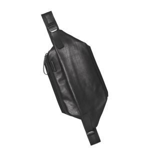 クリアランス/コートエシエル(Cote&Ciel)イタリアンレザーISARAUメッセンジャーバッグ ブラック/ISARAU ALIAS COWHIDE LEATHER Agate Black/28604|orangecake