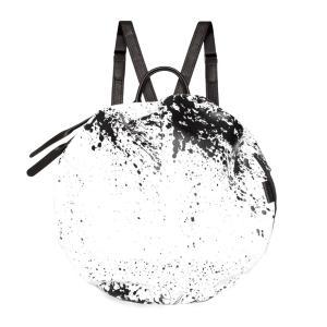 クリアランス/コートエシエル(Cote&Ciel)イタリアンレザーMOSELLEリュック ホワイトブラック/MOSELLE PRINTED ALIAS COWHIDE LEATHER White/Black 28662 orangecake