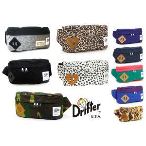 ドリフター(Drifter)CLASSIC HIP SACK M/ボディバッグ/ウエストバッグ/クラシックヒップサック/Be mine collection|orangecake