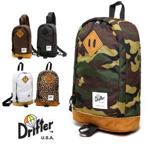 ドリフター(Drifter)PLAY PACK/ボディバッグ/レザー×ナイロン/メッセンジャーバッグ|orangecake