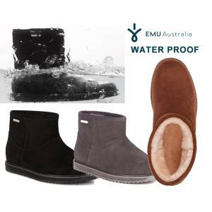 EMU(エミュー)完全防水ムートンショートブーツ/Paterson Classic Mini/雨、雪にも対応できるシープスキンレインブーツ/W11619|orangecake