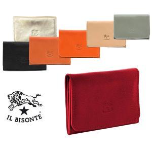 イルビゾンテ(Il Bisonte)レザー名刺入れ カードケース/レディース/メンズ/Card Case In Cowhide Leather C0470|orangecake