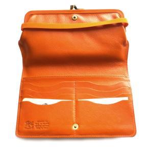 イルビゾンテ(Il Bisonte)がま口レザー長財布/2019年新入荷モデル orangecake 05