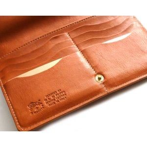 イルビゾンテ(Il Bisonte)がま口レザー長財布/2019年新入荷モデル orangecake 06