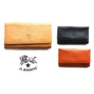 イルビゾンテ(Il Bisonte)レザー長財布/Long Wallet in Cowhide Leather C1059P/2019年新入荷モデル|orangecake