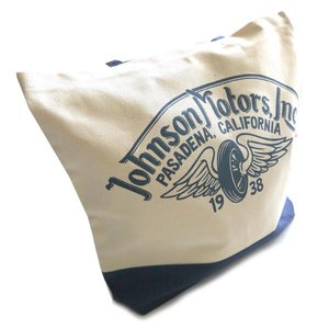 ジョンソンモータース(Johnson Motors)トートバッグ/ロゴプリント/コットンキャンバス|orangecake|05
