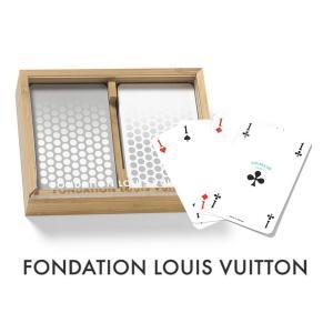 パリ限定/LOUIS VUITTON/ルイヴィトン美術館/トランプ2セット/木製ケース付き|orangecake