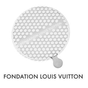 メール便送料無料/パリ限定!LOUIS VUITTON/ルイヴィトン美術館/ポケットミラー/手鏡/FONDATION LOUIS VUITTON|orangecake