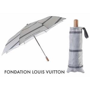 パリ限定!LOUIS VUITTON/ルイヴィトン美術館/折りたたみ傘/ワンタッチボタン/FONDATION LOUIS VUITTON/Foldable umbrella|orangecake