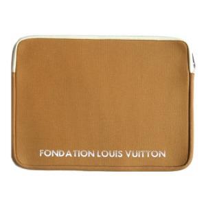 パリ限定!LOUIS VUITTON/ルイヴィトン美術館/ノートパソコン&タブレットケース 13インチラップトップケース/小物ポーチ/FONDATION LOUIS VUITTON|orangecake|03