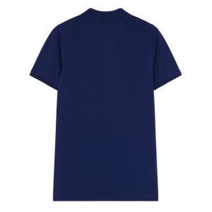 2019年新作/メゾンキツネ(MAISON KITSUNE)メンズ ポロシャツ LIGHT PIQUE POLO フォックス刺繍/グレー、ネイビー|orangecake|07