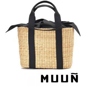 Muun(ムーニュ)かごバッグ/CABA P/インナーバッグ...