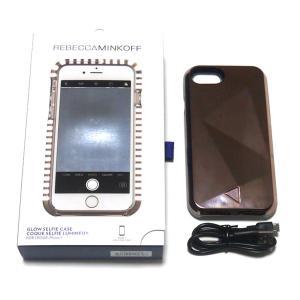 レベッカミンコフ(Rebecca Minkoff)光るLED iPhone6、7、8ケース/ミラーローズゴールド/iPhone6|orangecake|02
