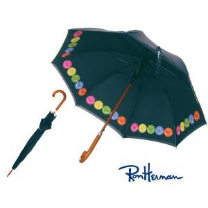 ロンハーマン(Ron Herman)雨傘/スマイル柄ネイビー/Exclusive RH Smiley Umbrella|orangecake