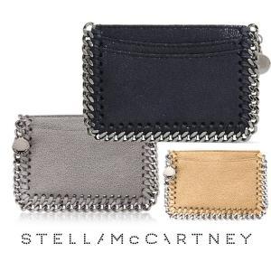 2019年モデル/ステラマッカートニー(STELLA McCARTNEY)カードケース 名刺入れ ファラベラ シャギーディア/Card Holder Shaggy Deer Falabella|orangecake