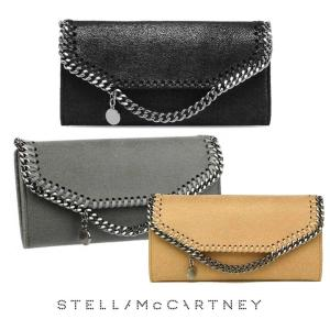 クリアランス/2019年モデル/ステラマッカートニー(STELLA McCARTNEY)長財布 ファラベラ シャギーディア/Continental Wallet|orangecake