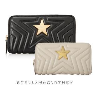 2019年モデル/ステラマッカートニー(STELLA McCARTNEY)スター長財布 ステラスター キルティングウォレット/STELLA STAR Wallet|orangecake