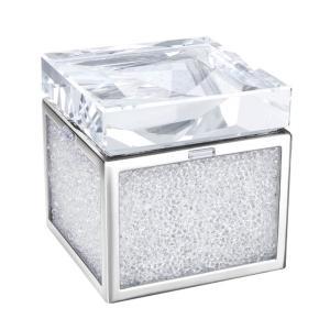 クリアランス/スワロフスキー(SWAROVSKI)Crystalline 宝箱/宝石箱/小物入れ/トレジャーボックス/Crystalline Treasure Box/スワロフスキー社製置物|orangecake