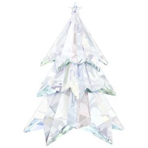 スワロフスキー(SWAROVSKI)クリスマスツリー クリスタルオブジェ/オーナメント/Crystal Aurora Boreale Christmas Tree Crystal|orangecake