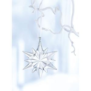 スワロ社紙袋、ケアカード、箱付き/スワロフスキー(SWAROVSKI)リトルスター オーナメント/クリスマスツリー用星飾り/Little Star Ornament/サンキャッチャー|orangecake