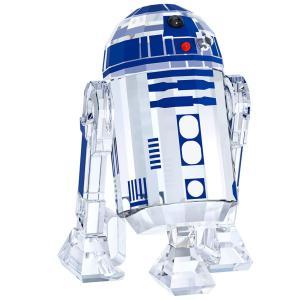 クリアランス/スワロフスキー(SWAROVSKI)スターウォーズ R2-D2/フォースの覚醒/Star Wars R2-D2/クリスタルオブジェ/スワロフスキー社製置物|orangecake