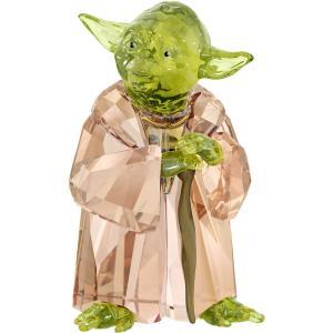 スワロフスキー(SWAROVSKI)スターウォーズ マスター・ヨーダ/Star Wars Master Yoda/クリスタルオブジェ/スワロフスキー社製置物|orangecake
