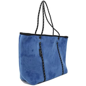ファスナー×ベロア/Willow bay(ウィローベイ)ベルベットネオプレントートバッグ ポーチ付き/Boutique Velvet Zip/マザーズバッグ|orangecake|04