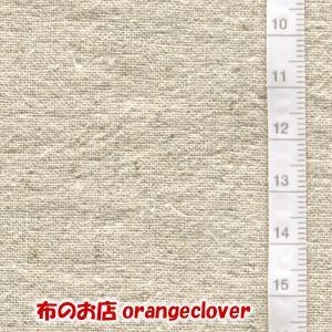 生地 布 綿麻 コットン リネン 無地 キナリ|orangeclover|02