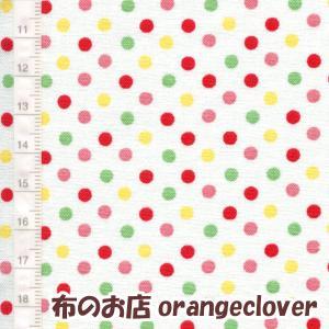 生地 布 コットン LECIEN Color Basic ドット3mm ホワイト カラー|orangeclover