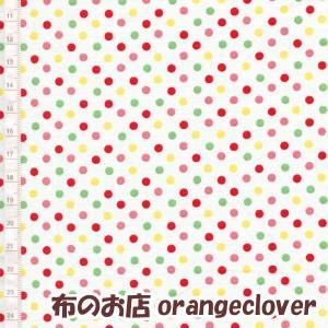 生地 布 コットン LECIEN Color Basic ドット3mm ホワイト カラー|orangeclover|02