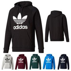 アディダス オリジナルス adidas Originals トレフォイル フーディー ロゴ パーカー メンズ レディース 全6色 TREFOIL HOODIE DTH09 送料無料|orangecounty