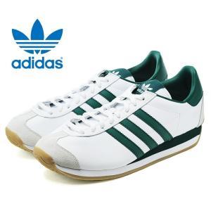 アディダス オリジナルス カントリー スニーカー レディース メンズ 白 緑 ホワイト グリーン adidas Originals COUNTRY OG G26687