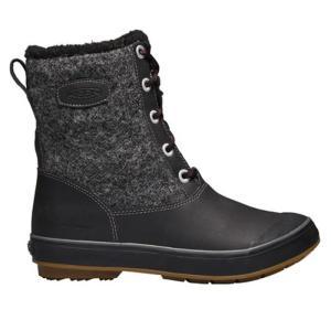 キーン KEEN エルサ エル ブーツ Elsa L Boot WP レディース ブーツ ウィンターブーツ スノーブーツ 防水 防寒 ウール ブラック 黒 1017401 orangecounty
