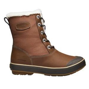 キーン KEEN エルサ エル ブーツ Elsa L Boot WP レディース ブーツ ウィンターブーツ スノーブーツ 防水 防寒 ブラウン 茶 1017402 orangecounty