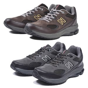 bcc2a251d3d36d ニューバランス MW1501 2E 4E G スニーカー ウォーキングシューズ メンズ 男性 シューズ 靴 ローカット ダークブラウン ダークグレー  幅広 ワイド New Balance
