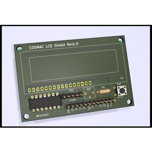 COSMAC 液晶表示シールド 専用プリント基板|orangepicoshop