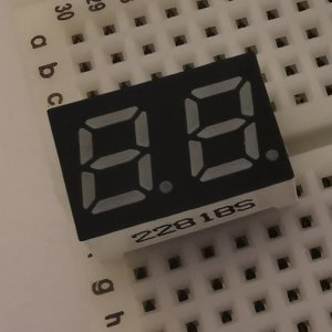 0.28インチ2桁7セグメントLED|orangepicoshop