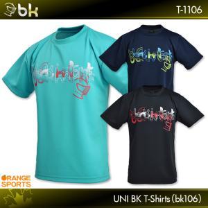 ブラックナイト バドミントンTシャツ BKTシャツ(bk106) T-1106 ユニ 男女兼用 バド...