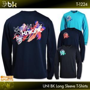 ブラックナイト バドミントン BK ロングTシャツ T-1224 ユニ 男女兼用 ロングスリーブTシ...