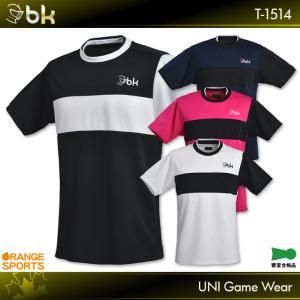 ブラックナイト バドミントン ゲームウェア T-1514 ユニ ゲームシャツ ユニフォーム 日本バド...