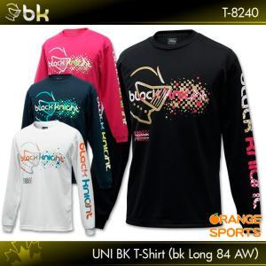 ブラックナイト バドミントンTシャツT-8240 (bkロング84AW)ロングスリーブTシャツ バドミントン バドミントンウェア Tシャツ 長袖